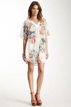 Silk Floral Mini Dress on HauteLook