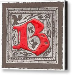 letter B Drawing by Kristine Jansone - letter B Fine Art Prints and Posters for Sale