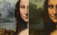 Copy of Mona Lisa by da Vinci student found in Madrid: The Prado painting was long thought to be one of dozens surviving replicas made after Leonardo's death but it is now believed to have been painted by one of his key pupils working alongside the master. Due to its fragility, cleaning and restoration is thought to be too risky, but is in the process of being stripped of a dark over-paint to reveal her as she would have looked.