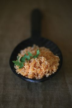 My mom makes the most amazing Mexican rice. She learned from the best…my grandma. My mother's recipe is in the Muy Bueno cookbook and now I'd like to share it here with you. This side dish is one of the first recipes my mother learned to cook when she was a little girl. It is …