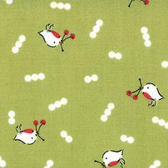Cherry Christmas from Aneela Hoey for Moda by poppyseedfabrics, $4.85