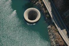 MONTICELLO DAM - spillway