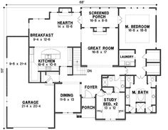 - 18556WB | 1st Floor Master Suite, Butler Walk-in Pantry, CAD Available, Den-Office-Library-Study, Jack & Jill Bath, Media-Game-Home Theater, PDF, Sloping Lot, Traditional | Architectural Designs