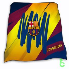 New Hot Barcelona FC Logo Blanket