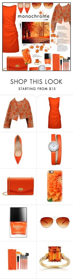 """""""Natural monochrome inspiration!"""" by ela79 ❤ liked on Polyvore featuring Comme des Garçons, Moschino, Manolo Blahnik, Baume & Mercier, Mulberry, Casetify, Butter London, Steve Madden, Annello and GALA"""
