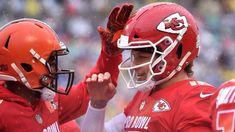 4972be032 2019 NFL Pro Bowl live  Young stars Patrick Mahomes Saquon Barkley on  display - ESPN