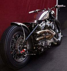 Type 5, Harley-Davidson bobber by Zero Engineering at the Festival automobile international 2012
