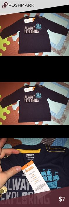 NWT Gymboree long sleeve shirt 6-12 months NWT Gymboree long sleeve shirt 6-12 months Gymboree Shirts & Tops Tees - Long Sleeve