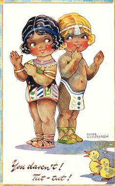 Agnes Richardson postcard. Agnes Richardson (1885-1951). English artist.
