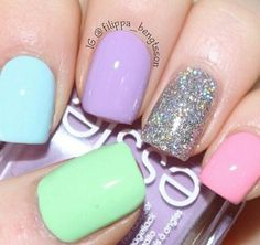 ♥ #girls  -  #nail polish