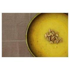 Soep    Pompoen, courgette, appel