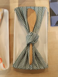 Tenugui gift wrapping by Megumi Inouye — shastablasta.com