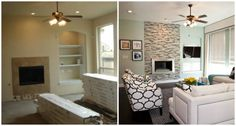 Before and After Room Transformations - Amazing Room Makeovers - House Beautiful
