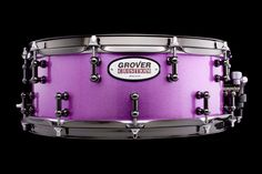 Grover Custom Drums | GCD-12-046743 Drummers, Musical Instruments, Musicals, Bench, Pink, Color, Music Instruments, Percussion, Colour