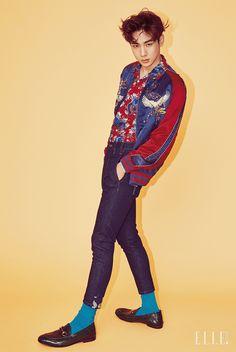 Key (SHINee) - Elle Magazine May Issue '16