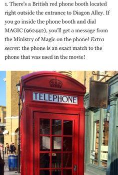 Secret of the wonderful world oh Harry Potter