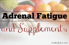 Vitamin and mineral supplements can help a lot in adrenal support and function. Here are some I recommend!