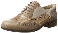 Oferta: 99.95€ Dto: -30%. Comprar Ofertas de Clarks Hamble Oak, Zapatos de Cordones Oxford para Mujer, Beige (Nude Combi), 40 EU barato. ¡Mira las ofertas!