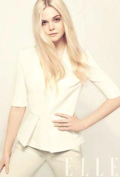 Elle Fanning. Inspiration for the character Ellie B. in Model Under Cover. #modelundercover
