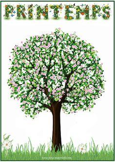 affiche de le printemps