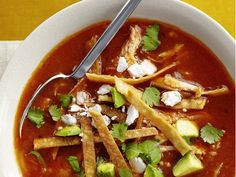 50 Soups : Recipes and Cooking : Food Network - FoodNetwork.com