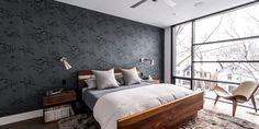 Schlafzimmer Grau - ein modernes Schlafzimmer Interior in grau - fresHouse