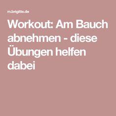 Workout: Am Bauch abnehmen - diese Übungen helfen dabei