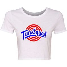 TurnTo Designs - Crop Top (Full) TUNE SQUAD Lola Vinyl M/L with Name/Number