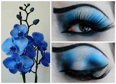 """""""Blue+Orchid""""+-+Blue+Eyeshadow+https://www.makeupbee.com/look.php?look_id=88478"""