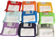 Floppy Disk Pouch, so retro!