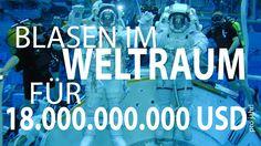 """Blasen im """"Weltraum"""" für 18.000.000.000 USD pro Jahr!"""