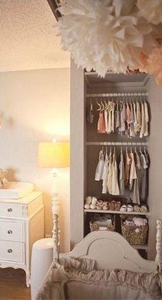 """The """"No Closet"""" Kids' Room Closet"""