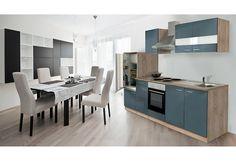 Küchenzeile mit E-Geräten »Anna«, Breite 270 cm, mit Edelstahl-Kochmulde Jetzt bestellen unter: https://moebel.ladendirekt.de/kueche-und-esszimmer/kuechen/kuechenzeilen/?uid=e4aaaa95-8518-5de6-8a39-bf39a9aa17c3&utm_source=pinterest&utm_medium=pin&utm_campaign=boards #kueche #kuechen #kuechenzeilen #esszimmer