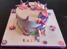 Layer cake ganache nutella pour les 7 ans de ma fille