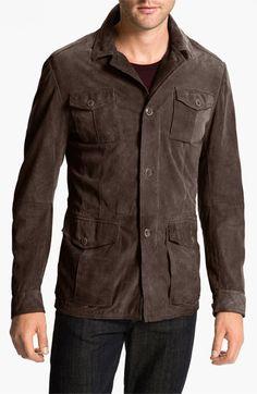 Suede Safari jacket