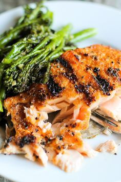 How to Perfectly Grill Salmon With Its Skin On | eHow | eHow