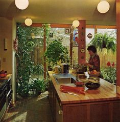 PLANNING & REMODELING KITCHENS | Sunset Books ©1979 (this is juuuuuuuust on the cusp of the 70s, but i like it so yeah)