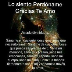 Spiritual Messages, Spiritual Life, Positive Inspiration, Spiritual Inspiration, Spanish Prayers, Yoga Mantras, Gratitude Quotes, Grateful Quotes, God Prayer