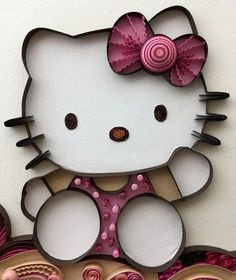Hello! We've been in the process of relocating so I haven't been quilling or posting much. But I was able to complete this custom order from my hotel room. More to come tomorrow but for now its for bed. I just wanted to drop in and say Hello…Kitty...