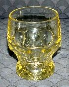 Cambridge Glass GEORGIAN YELLOW Tumblers