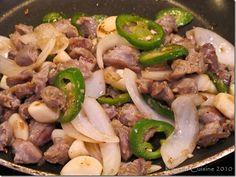 Korean Cuisine: Chicken Gizzard Stir-fry - Dak Ddong Jjip - (닭똥집 볶음)