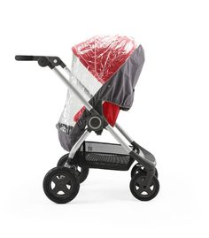 Stokke Scoot Stroller with Rain Cover Accessory
