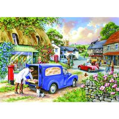 Bakers Dozen Jigsaw Puzzle from Jigsaw Puzzles Direct