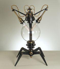 Steam-Punk Lampe