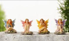 Fairy cijfers van MagicalFairyGardenz op Etsy