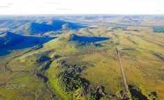 Road to river - Road to river in the valley Del Lunarejo, Rivera Uruguay
