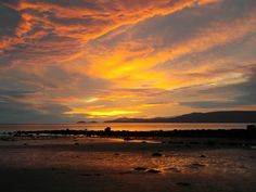Clew bay at sunset, Co. Mayo