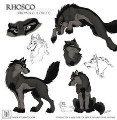 Sketches Rhosco by TaniDaReal on DeviantArt
