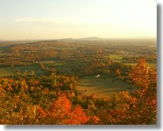 View from Mt. Philo State Park  Charlotte, VT  Many sunset picnics here with family and friends