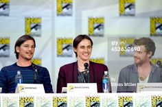 Josh Hartnett, Reeve Carney and Harry Treadaway attend Showtime's 'Penny Dreadful' panel during Comic-Con International 2014 at the San Diego Convention Center on July 24, 2014 in San Diego, California. (Photo by Ethan Miller/Getty Images)